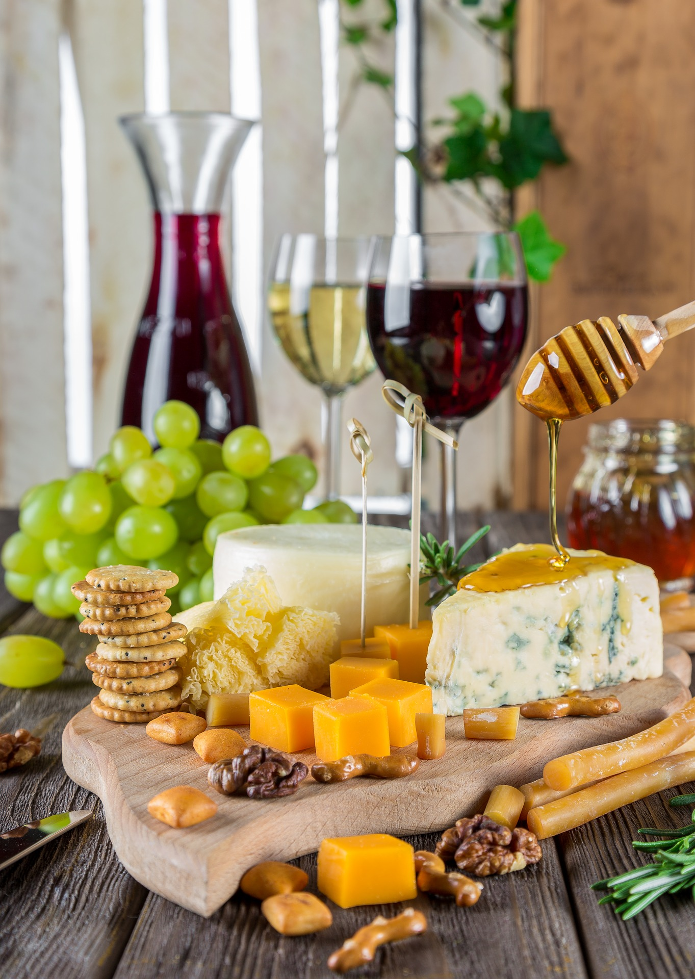 11.04.2018 - Wein + Häppchen mit Sidi die 2.